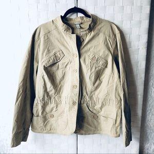Lane Bryant light weight linen cotton jacket 18/20